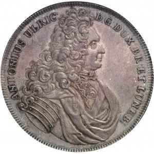 Brunswick-Wolfenbüttel, Anton-Ulrich (1704-1714). Thaler 1710 HCH, Braunschweig.