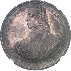 Constance (évêché de), Franz Konrad von Rodt (1750-1775). Thaler 1761 FH, Augsbourg.