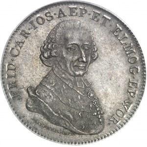Mayence (archevêché de), Frédéric-Charles Joseph d'Erthal (1774-1802). Thaler 1794 IL-IA, Mayence.