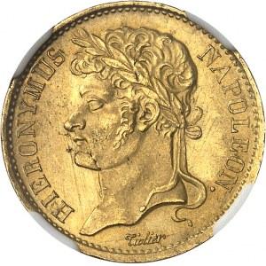 Westphalie, Jérôme Napoléon (1807-1813). 20 frank 1808, C, Cassel.