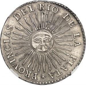 Confédération argentine (1831-1861). 8 réaux 1836 P, RA, Rioja.