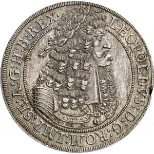 Léopold Ier (1657-1705). Thaler 1698, Hall.