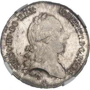 Joseph II (1765-1790). Demi-thaler 1788, A, Vienne.