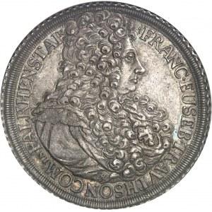 Trautson (principauté de), François-Eusèbe (1663-1728). Thaler 1708, MM, Trautson.