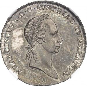 François Ier (1792-1835). 1/2 thaler 1825, A, Vienne.