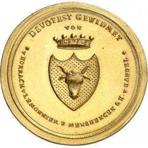 François Ier (1804-1835). Médaille d'or, pour 25 ans de service du baron Heinrich von Handel 1822, Vienne ?