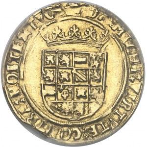 Brabant (duché de), Charles Quint (1506-1555). Demi-réal d'or ND (1521-1552), Anvers.