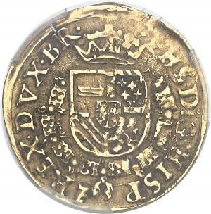 Brabant (duché de), Philippe II (1555-1598). Florin de Bourgogne au Saint André 1568, Anvers.