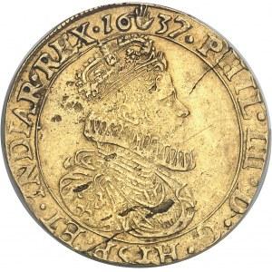 Brabant (duché de), Philippe IV (1621-1665). Double souverain 1637, Anvers.