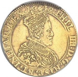 Brabant (duché de), Philippe IV (1621-1665). Double souverain 1639, Anvers.