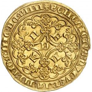 Flandres (comté de), Louis de Male (1346-1384). Lion heaumé ND (1346-1384), Gand.