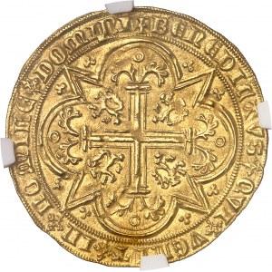 Flandres (comté de), Philippe le Hardi (1384-1404). Ange d'or ND (1384-1404), Bruges.