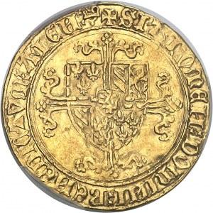 Flandres (comté de), Philippe le Bon (1419-1467). Cavalier d'or ND (1419-1467), Gand.