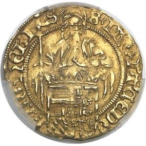 Flandres (comté de), Philippe le Beau (1482-1506). Demi-florin au Saint Philippe ND (1500-1506), Bruges.