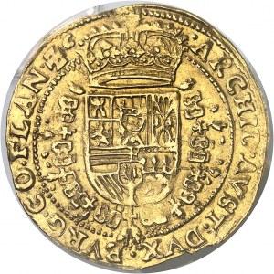 Flandres (comté de), Philippe IV (1621-1665). Souverain ou lion d'or 1648/7, Bruges.