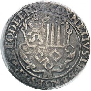 Liège (évêché de), Corneille de Berghes (1538-1544). Pièce de 4 patards ND (1538-1544), Liège.