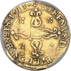 Liège (évêché de), Ferdinand de Bavière (1612-1650). Double écu d'or 1613, Bouillon.