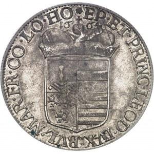 Liège (évêché de), Maximilien-Henri de Bavière (1650-1680). Patagon 1664, Liège.