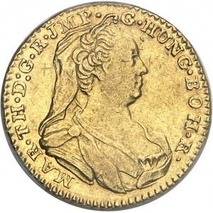 Pays-Bas autrichiens, Marie-Thérèse (1740-1780). Double souverain 1778, Bruxelles.