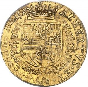Tournai (seigneurie de), Albert et Isabelle (1598-1621). Double albertin 1600, Tournai.