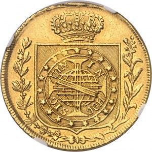 Pierre Ier (1822-1831). 6400 réis pour le couronnement 1822, R, Rio de Janeiro.