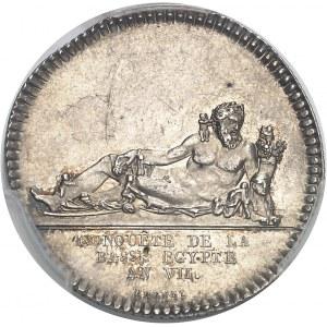 Directoire (1795-1799). Jeton pour la Conquête de la Basse-Égypte An VII (1798), Paris.