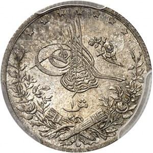 Abdülhamid II (1876-1909). Qirsh AH 1293/27 (1901), W, Berlin.