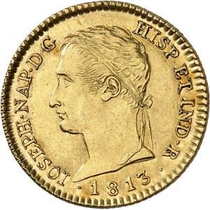 Joseph Napoléon (1808-1813). 80 réales 1813 RN, M, Madrid.