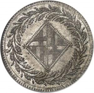 Joseph Napoléon (1808-1813). 5 pesetas 1811, Barcelone.
