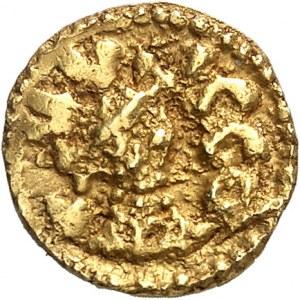 Quentovic, Dvtta monétaire. Trémissis ND (600-650), Quentovic.