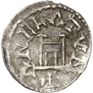 Louis le Pieux (814-840). Obole au portrait, classe I ND (814-819), Arles.