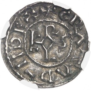 Charles II le Chauve (840-877). Denier ND (840-877), Amiens.