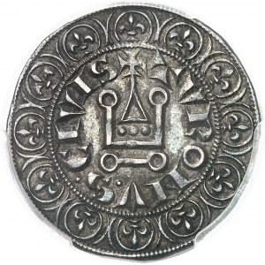 Louis IX dit Saint Louis (1245-1270). Gros tournois ND (1266-1270).