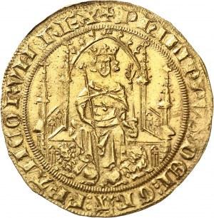 Philippe VI (1328-1350). Parisis d'or ND (1329).