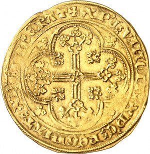 Philippe VI (1328-1350). Écu d'or à la chaise, 6e émission ND (1349).