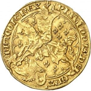 Philippe VI (1328-1350). Florin Georges, 1ère émission ND (1341), Angers.