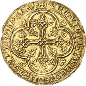Édouard III (1337-1360). Écu d'or à la chaise, émission inconnue ND (après 1344).