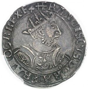 François Ier (1515-1547). Teston 25e type ND (1540-1547), D, Lyon.