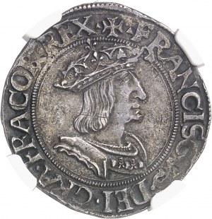 François Ier (1515-1547). Teston du Dauphiné, 2e type ND (après 1528), Romans.