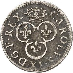 Charles IX (1560-1574). Essai de double tournois en argent ND (c.1563), Paris.