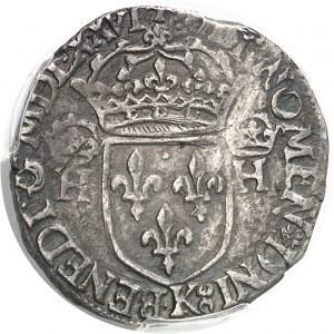 Henri III (1574-1589). Teston, sans le titre de roi de Pologne 1576, K, Bordeaux.