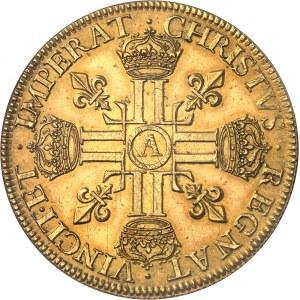 Louis XIII (1610-1643). Huit louis d'or à la tête laurée 1640, A, Paris.