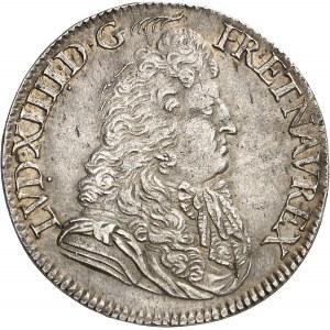 Louis XIV (1643-1715). Demi-écu au jabot ou à la cravate, 2e type 1683, A, Paris.