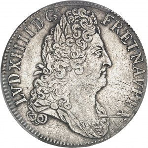 Louis XIV (1643-1715). Écu aux huit L 2e type, au buste lauré 1704, A, Paris.
