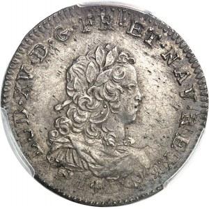 Louis XV (1715-1774). Tiers d'écu de France 1721, C, Caen.