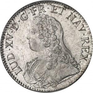 Louis XV (1715-1774). Écu aux rameaux d'olivier 1726, R, Orléans.