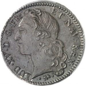 Louis XV (1715-1774). Demi-écu au bandeau 1763, L, Bayonne.