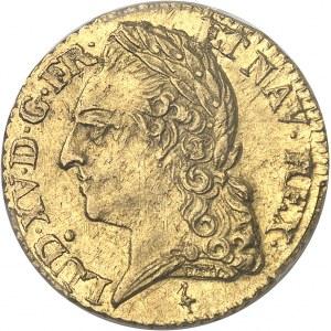 Louis XV (1715-1774). Louis d'or à la vieille tête 1774, 2e semestre, A, Paris.