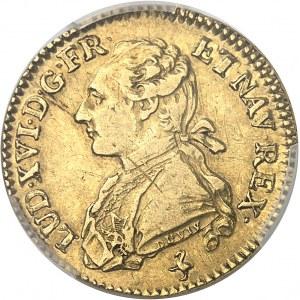 Louis XVI (1774-1792). Louis d'or aux palmes 1774, A, Paris.
