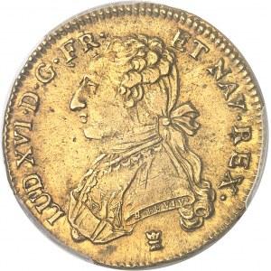 Louis XVI (1774-1792). Double louis d'or aux lunettes 1775, I, Limoges.